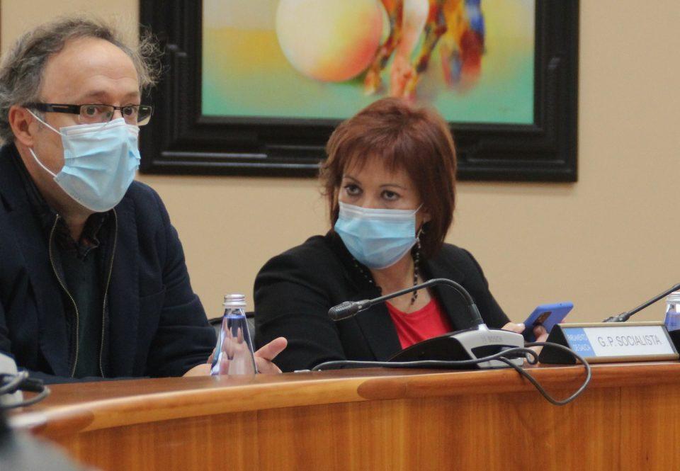 Begoña Rodríguez Rumbo, na Comisión de Economía, Facenda e Orzamentos do Parlamento