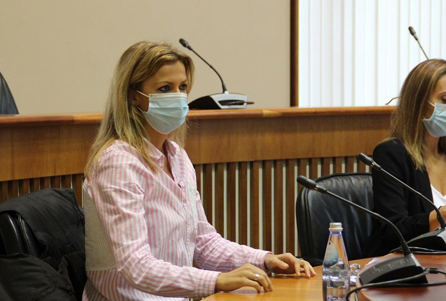 Marina Ortega insta á Xunta a intervir as residencias Val de Monterrei e Nosa Señora do Viso