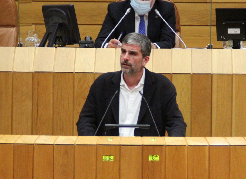 Martín Seco durante a súa intervención no Pleno