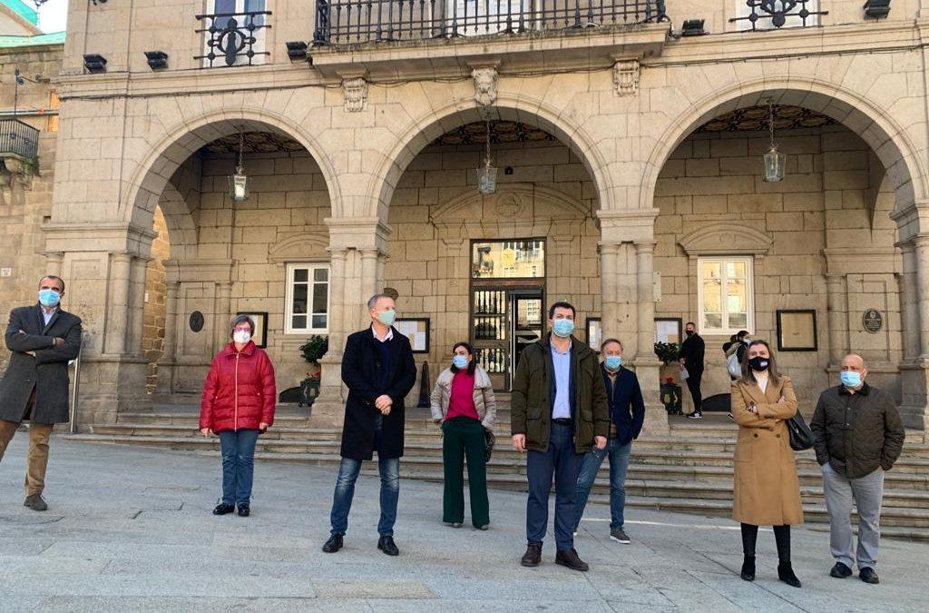 Gonzalo Caballero, hoxe, en Ourense
