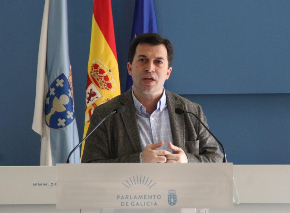 Gonzalo Caballero, trala Xunta de Portavoces