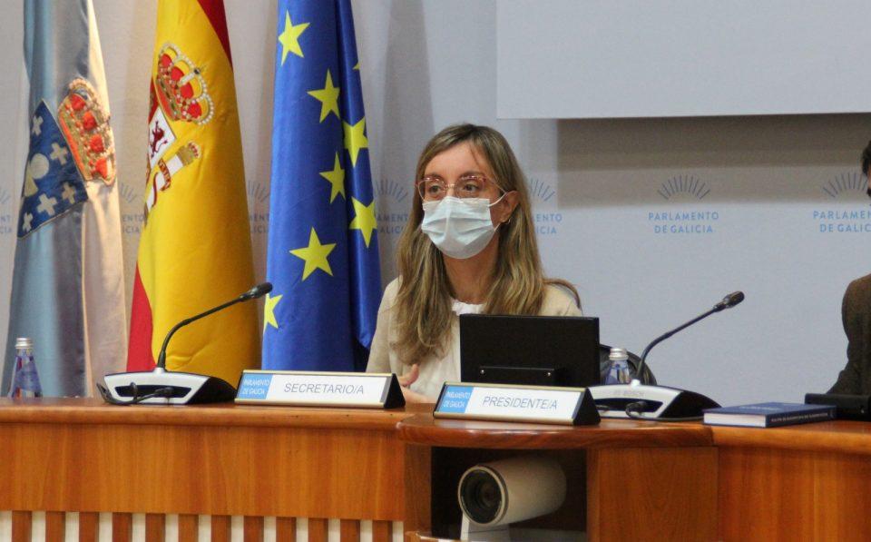 Paloma Castro, na Comisión de Xustiza